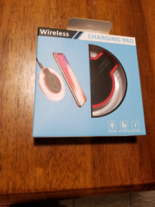 New wireless  charging pad for smart phones and I pads