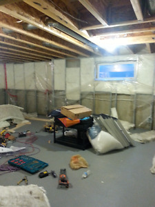 780-719-5264 BASEMENT FINISHED-FROM START TO FINISHED CALL ME...