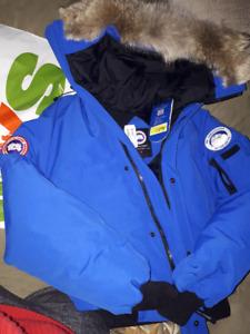BRAND NEW - Canada Goose CHILLIWAK PBI EXPEDITION EDITION - BLUE