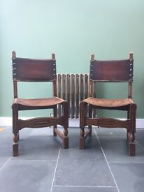 Pair of Magnificent Antique Chairs