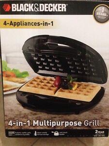 4-in-1 multipurpose grill