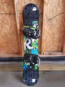 128cm Morrow with bindings