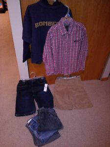 7 boys clothing items in size 7 for one price