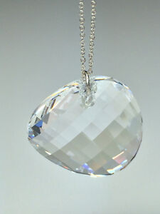 Sterling Silver Necklace w/Swarovski Twist Pendant - Moonlight Windsor Region Ontario image 1