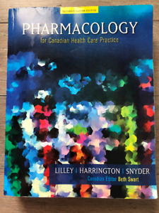 *Book- Pharmacology for Canadian Health Care Practice- Nursing *