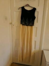 brand new boutique kaya embellished chiffon maxi dress, size 8 from Bo