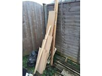 Assorted wood *offers*