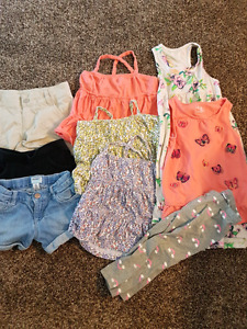 Summer clothes size 4