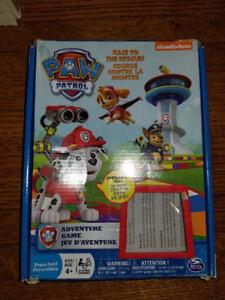 Paw Patrol fun adventure board game