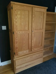 Crate Designs Armoire, Bookcase, Dressers.