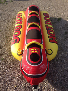 3 person Hot Dog Inflatable - Towable