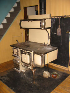 Antique Princess Pat Wood Burning Cook Stove Bakers Oven