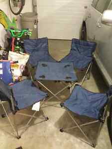 Picnic set of table and chairs