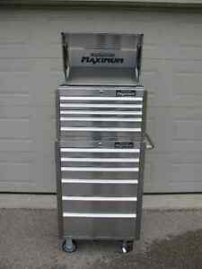 New Stainless Steel Mastercraft Maximum Tool Chest