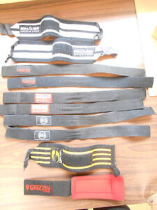 Weight Room LIfting Straps   everything you see one price
