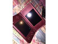 Nintendo DSi XL Wine Red +Game