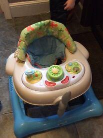 Aeroplane baby activity station