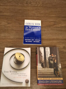 English Lit/Writing Texts (Great for ESL student writing papers)