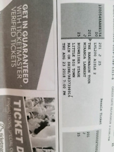 Tickets for sale