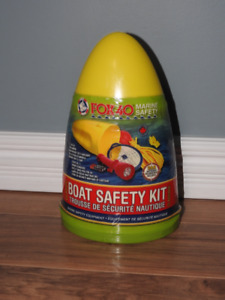 NEVER USED boat safety kit