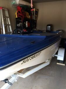 15 ' boat 40hp Mariner with power trim