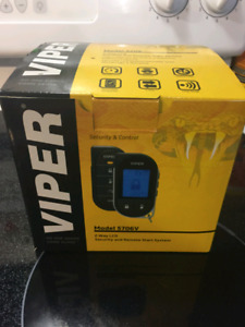 Viper 2 way remote start/security