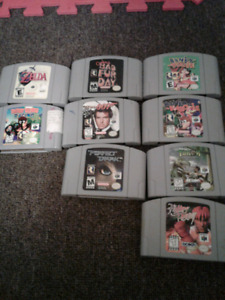 N64 and games, some rare
