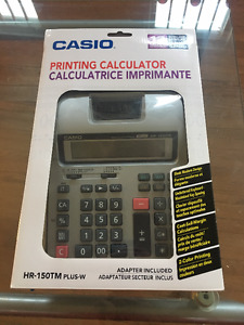 Brand New, Never Opened Casio Printing Calculator