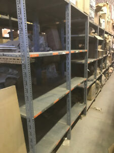 20 Sections of Steel Shelves 25.00/per section