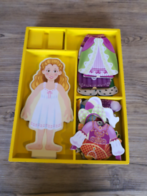Wooden Magnetic Dress up Toy