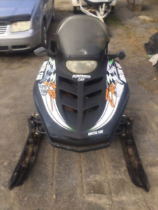 Parting out 1995 Arctic Cat ZR580 EFI L/C Twin W/Reverse
