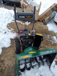 "Yardworks MTD 29"" 10.5 HP Snow Blower for parts or repair"