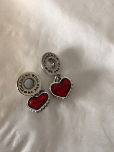 JUST IN TIME FOR MOTHERS DAY*Mother & Daughter Pandora Charm Set