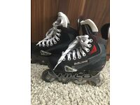 Bauer In-line hockey skates - size 1.5 (UK)