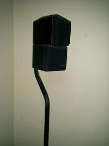 BOSE AM-7 ACOUSTIMASS Speakers and BOSE FS-6 FLOORSTANDS   PLEAS Kitchener / Waterloo Kitchener Area image 1