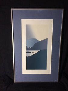 Wellington Harbour by Malcolm George Warr