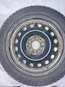 Winter tires 215-50-17 Michelin x-ice 2 of them
