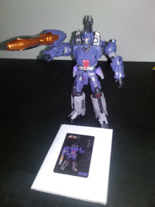 Unique toys mania king transformers 3rd party Galvatron