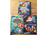 Disney DVD Princess Bundle