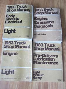 Ford factory repair manuals