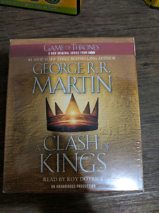 A clash of kings audio book (cd)