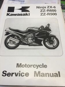 Zzr 500 and zzr 600 manual