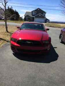 2014 Ruby Red Mustang Convertible
