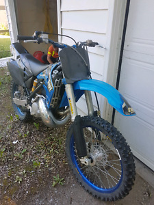 Tm250 racing dirt bike leaving Canada for good need to let it go