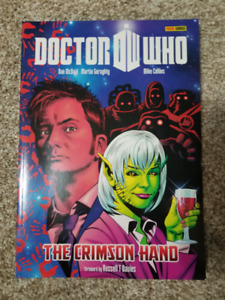 Doctor Who: The Crimson Hand Large Format Graphic Novel