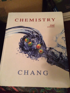 Chem 1F92 Chemistry 10th edition