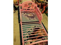 Minnie Mouse Toddler bed frame