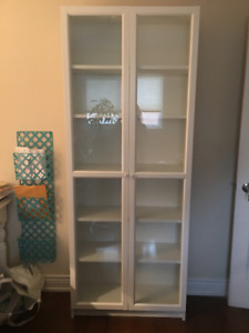Billy bookcase with glass door