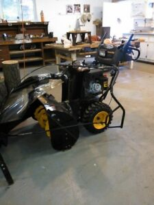 Poulan Pro Snowthrower with cab