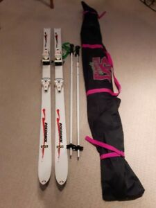 Downhill Skis, Boots, Poles, Accessories